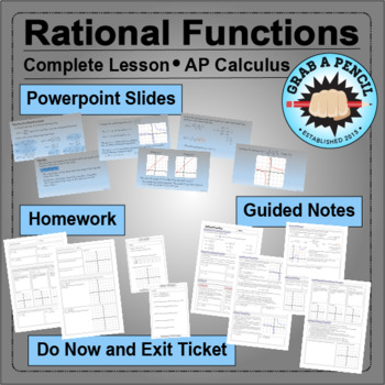 AP Calculus: Rational Functions Complete Lesson