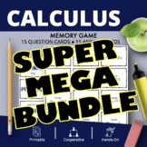 AP Calculus SUPER MEGA BUNDLE: Math Memory Games