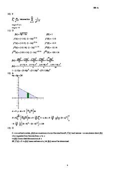 AP Calculus Second Semester Final Exam 2013