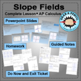 AP Calculus: Slope Fields Complete Lesson