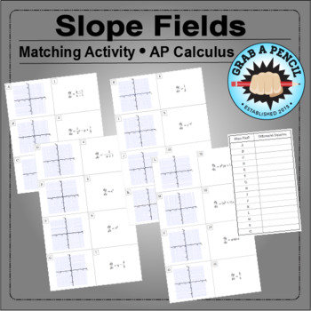 AP Calculus: Slope Fields Matching Activity