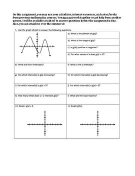 AP Calculus Summer Assignment