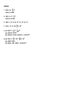 AP Calculus Taylor and Maclaurin Polynomial approximation worksheet