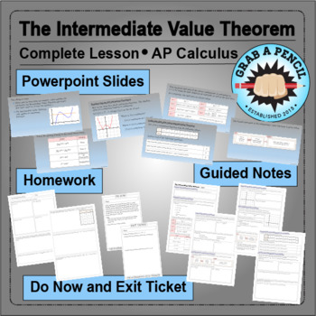 AP Calculus: The Intermediate Value Theorem Complete Lesson