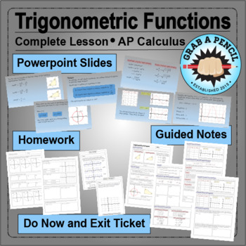 AP Calculus: Trigonometric Functions Complete Lesson