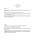 AP Calculus - Volume Free Response Practice