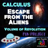 AP Calculus Volume of Revolution Fun Escape Project