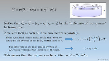 AP Calculus: Volumes by Cylindrical Shells Complete Lesson