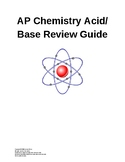 AP Chemistry Acid Base Review Guide and Practice Problems