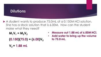 AP Chemistry Aqueous Solutions Powerpoint