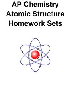 AP Chemistry Atomic Structure Problem Sets