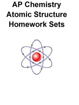 AP Chemistry Atomic Structure Worksheets