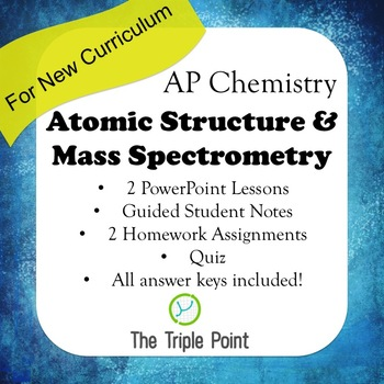AP Chemistry Big Idea 1: Atomic Structure & Mass Spectrometry