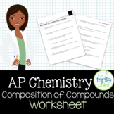 AP Chemistry Big Idea 1 Worksheet: Composition of Compounds