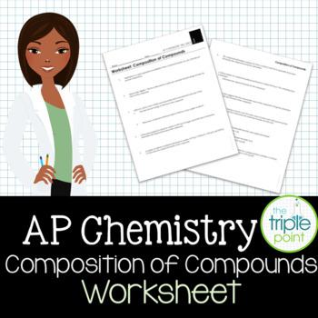 AP Chemistry Big Idea 1 Worksheet: Composition of Compounds