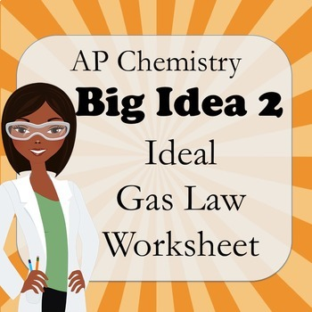 AP Chemistry Big Idea 2 Worksheet: Ideal Gas Law