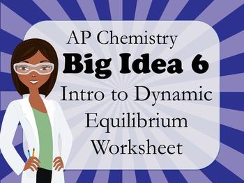 AP Chemistry Big Idea 6 Worksheet: Intro to Dynamic Equilibrium