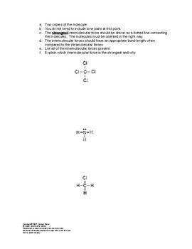 AP Chemistry Bonding Worksheets