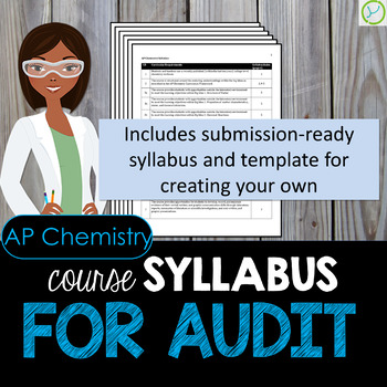 AP Chemistry Course Syllabus for Audit