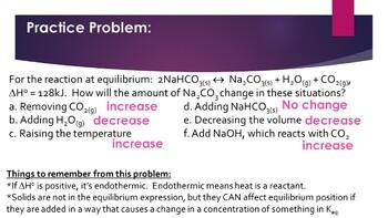 AP Chemistry Equilibrium Powerpoint