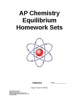AP Chemistry Equilibrium Worksheets (full answer keys)