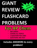 AP Chemistry Exam FAST Review Flashcards