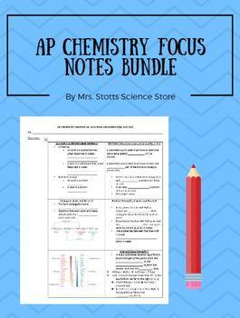 AP Chemistry Focus Notes Comprehensive Mega Pack