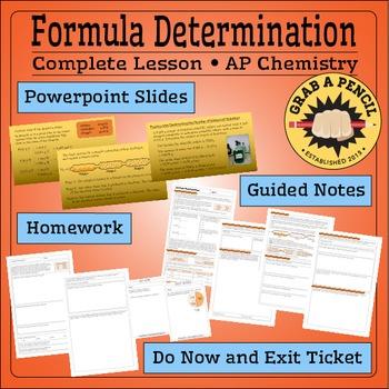 AP Chemistry: Formula Determination Complete Lesson