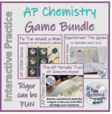 AP Chemistry Game Bundle -- Stoichiometry, Equilibrium, Periodic Trends, More!