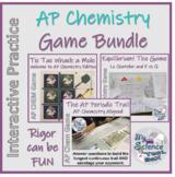 AP Chemistry Game Bundle -- Stoichiometry, Equilibrium, Pe