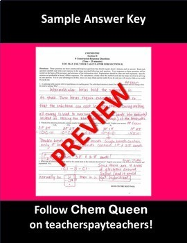 AP Chemistry Intermolecular Forces Test