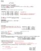 AP Chemistry Kinetics Guided Notes to go with Powerpoint (includes ANSWER KEY)