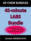 AP Chemistry LABS (Bundle of 11)