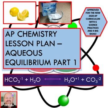 AP Chemistry Lesson Plan:  Aqueous Equilibrium Part 1