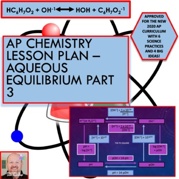AP Chemistry Lesson Plan:  Aqueous Equilibrium Part 3