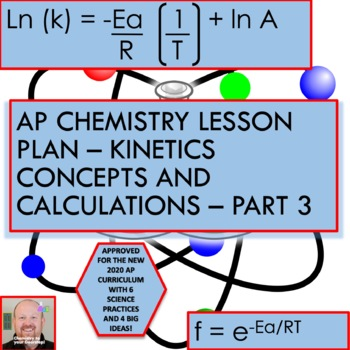 AP Chemistry Lesson Plan:  Kinetics Concepts and Calculations Part 3
