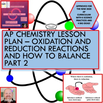 AP Chemistry Lesson Plan:  Oxidation/Reduction Reactions & How to Balance Part 2