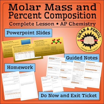 AP Chemistry: Molar Mass and Percent Composition Complete Lesson