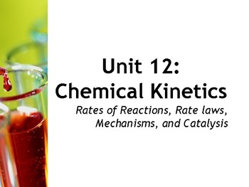 AP Chemistry Power Point: Chemical Kinetics