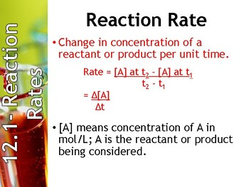 AP Chemistry Power Point: Chemical Kinetics