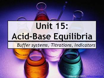 AP Chemistry Power Point and Guided Notes: Acid-Base Equilibria
