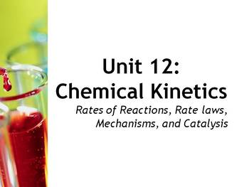 AP Chemistry Power Point and Guided Notes: Chemical Kinetics