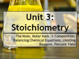 AP Chemistry Power Point and Guided Notes: Stoichiometry