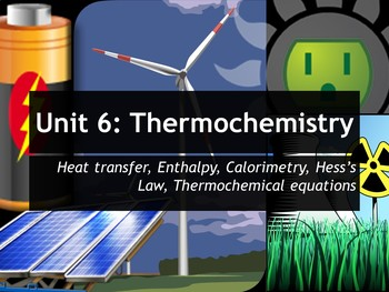 AP Chemistry Power Point and Guided Notes: Thermochemistry