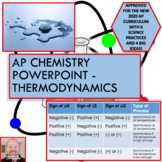 AP Chemistry PowerPoint: Thermodynamics, Entropy, and Gibbs Free Energy