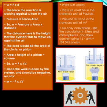 AP Chemistry PowerPoint: Internal Energy, Heat, and Work