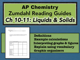 AP Chemistry Reading Guide Zumdahl Chapter 10-11 - Liquids