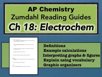 AP Chemistry Reading Guide Zumdahl Chapter 18 - Electrochemistry