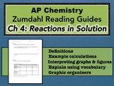 AP Chemistry Reading Guide Zumdahl Chapter 4 - Reactions i