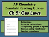 AP Chemistry Reading Guide Zumdahl Chapter 5 - Gas Laws